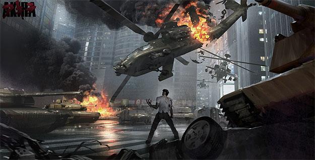 Concept art de Akira
