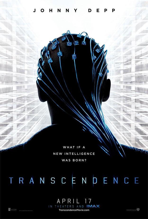 El primer cartel de Transcendence y unas mechas azules