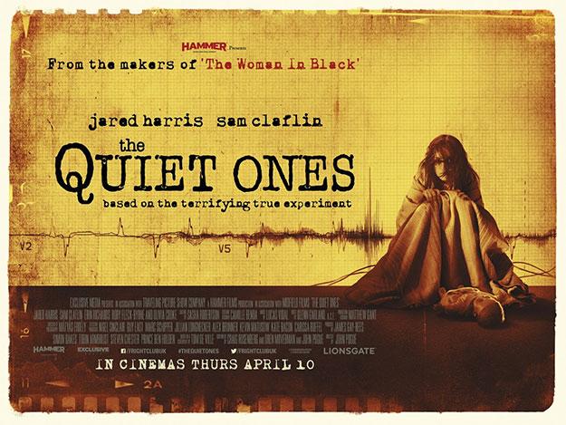 Un nuevo cartel de The Quiet Ones de la Hammer