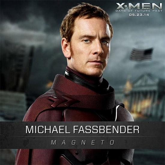 Saludad a Michael Fassbender, uno de nuestros dos Magneto favoritos