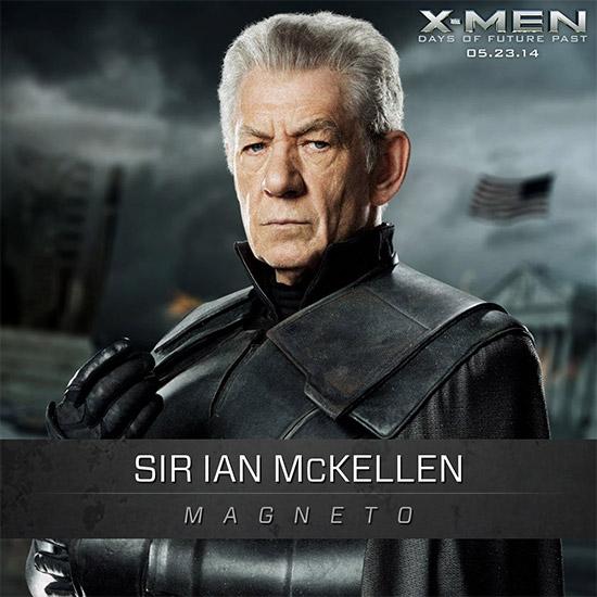 Saludad a Ian McKellen, uno de nuestros dos Magneto favoritos
