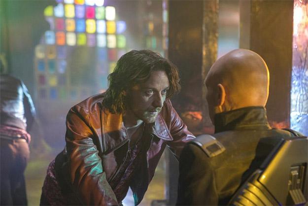 Esta imagen no la entiendo... ¿Xavier cara a cara con Xavier?