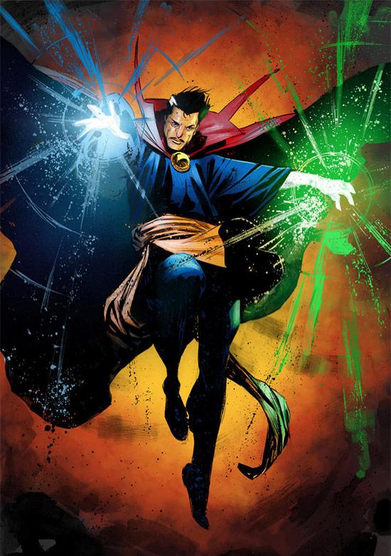 Proyecto Marvel Studios del futuro... magia potagia