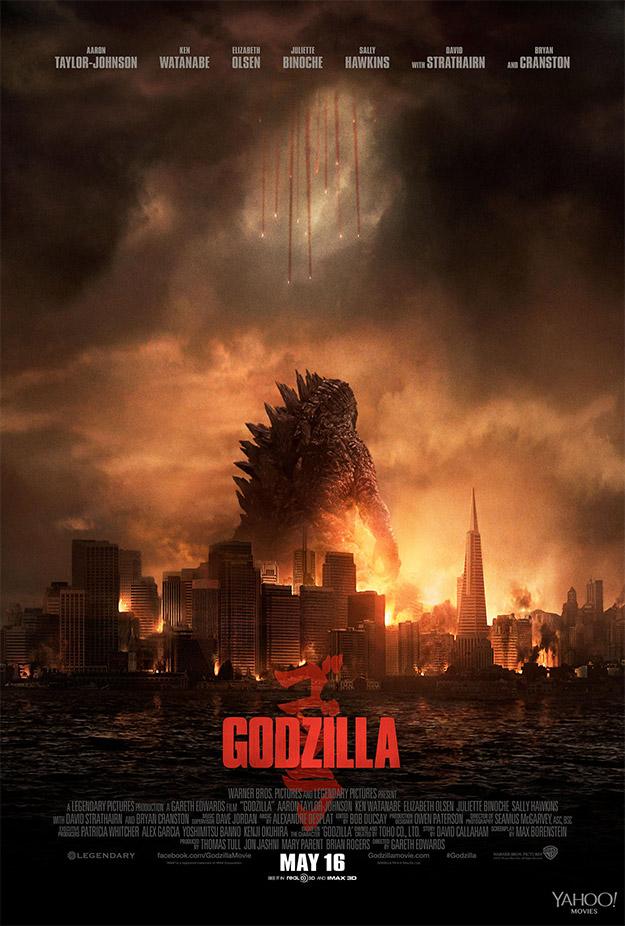 Uno de los muchos y molones carteles de Godzilla