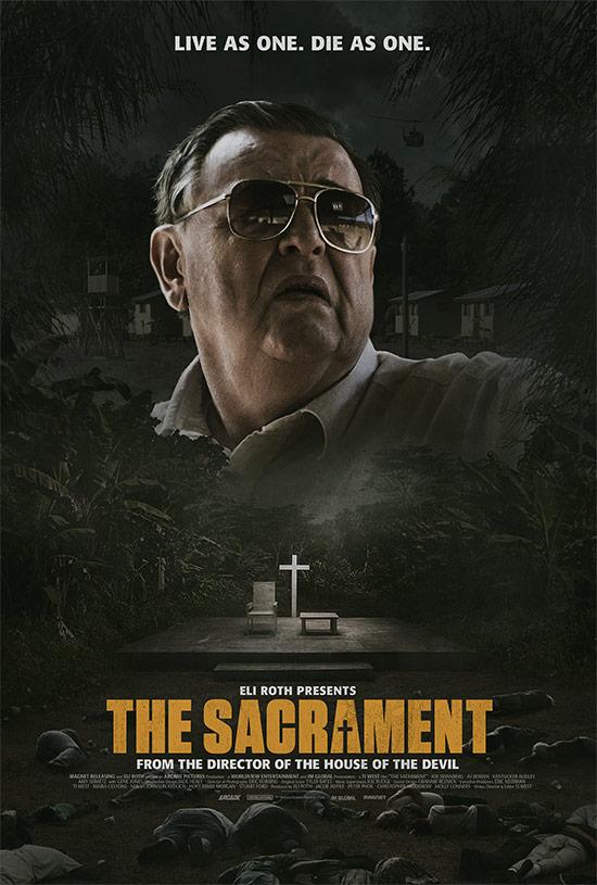 Un nuevo póster de The Sacrament vía Ti West en Twitter