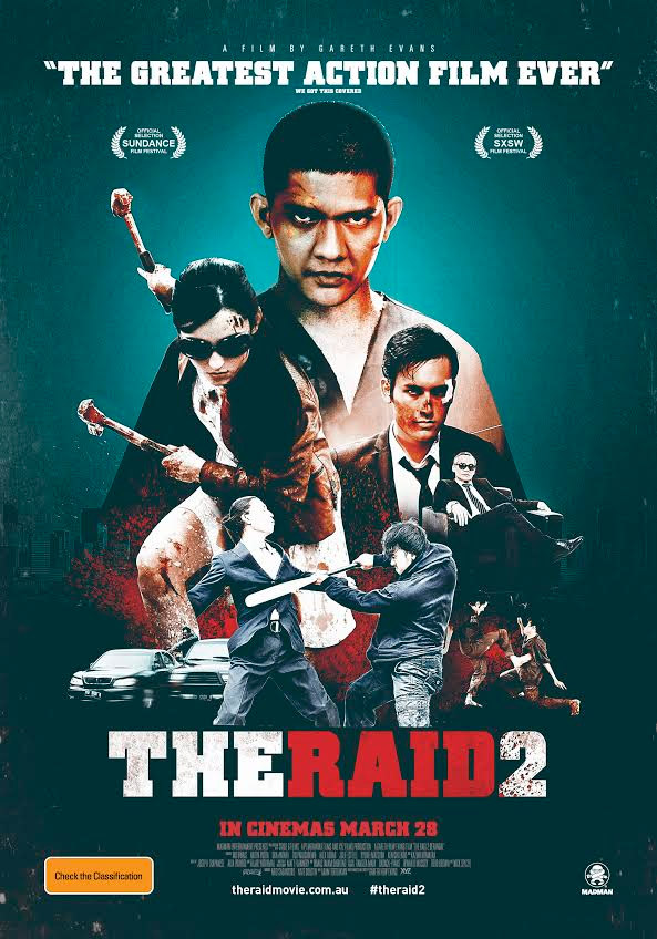 El cartel australiano de The Raid: Berandal