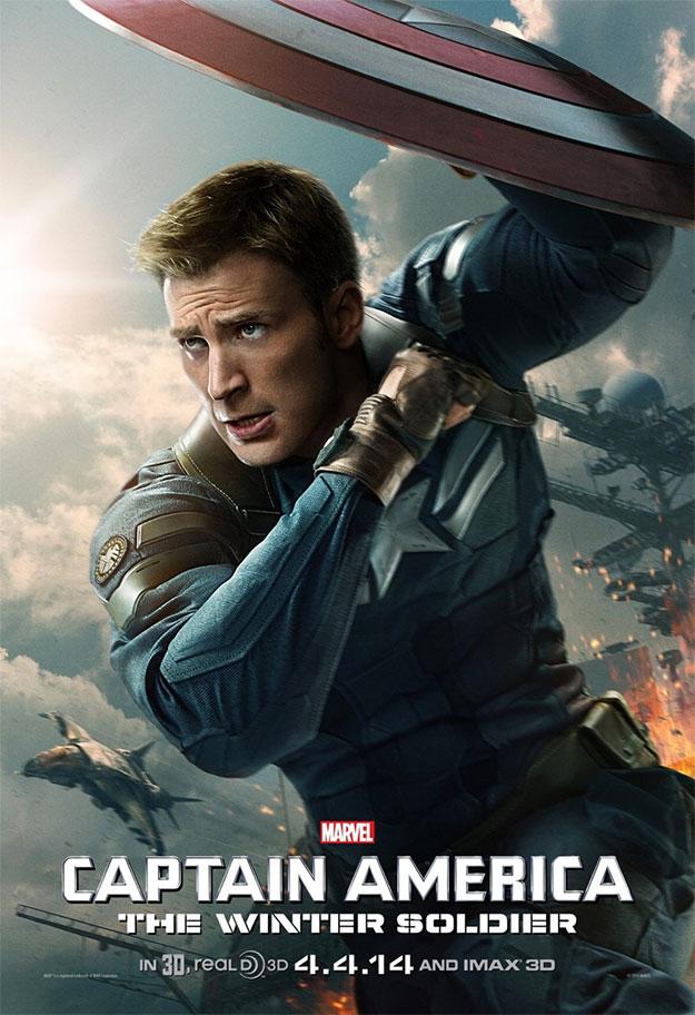 Un nuevo cartel de Capitán América: el Soldado de Invierno