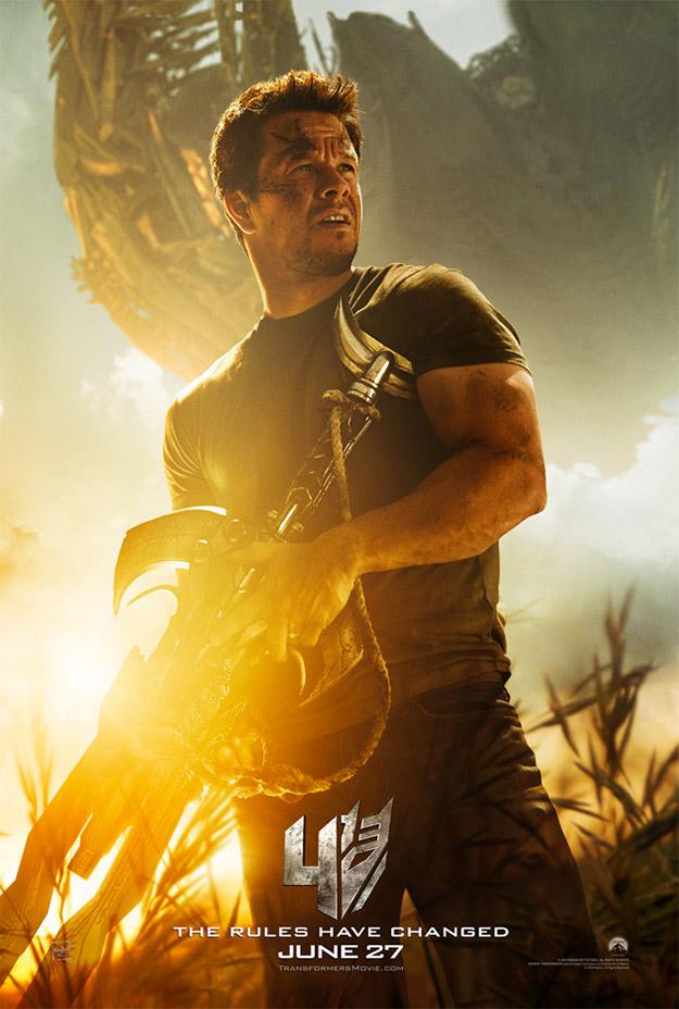 Ahora si, el nuevo cartel de Transformers: la era de la extinción