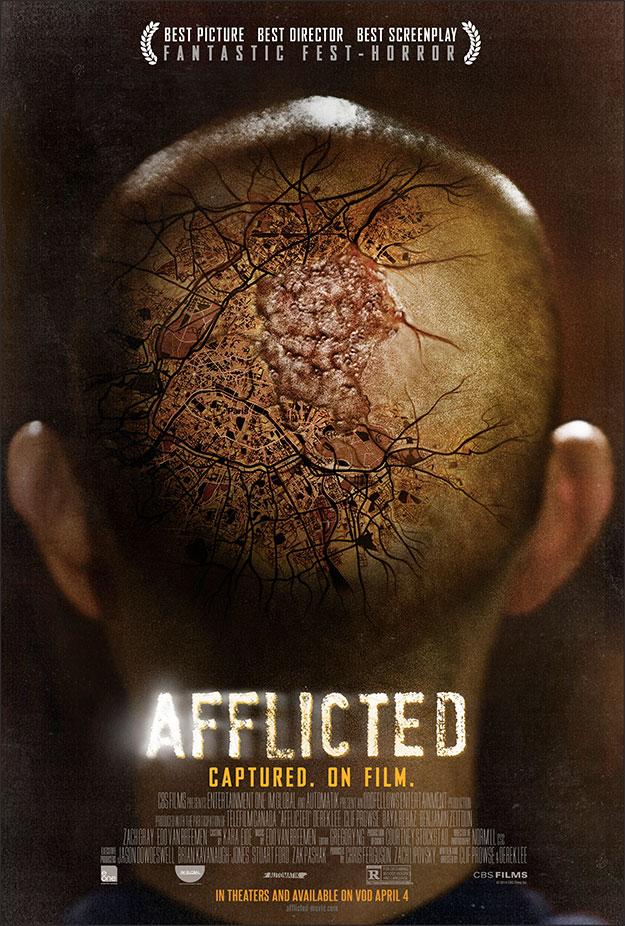 Cartel final de Afflicted