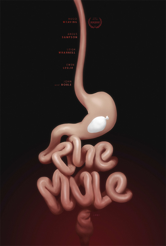 Tremendo póster este de The Mule