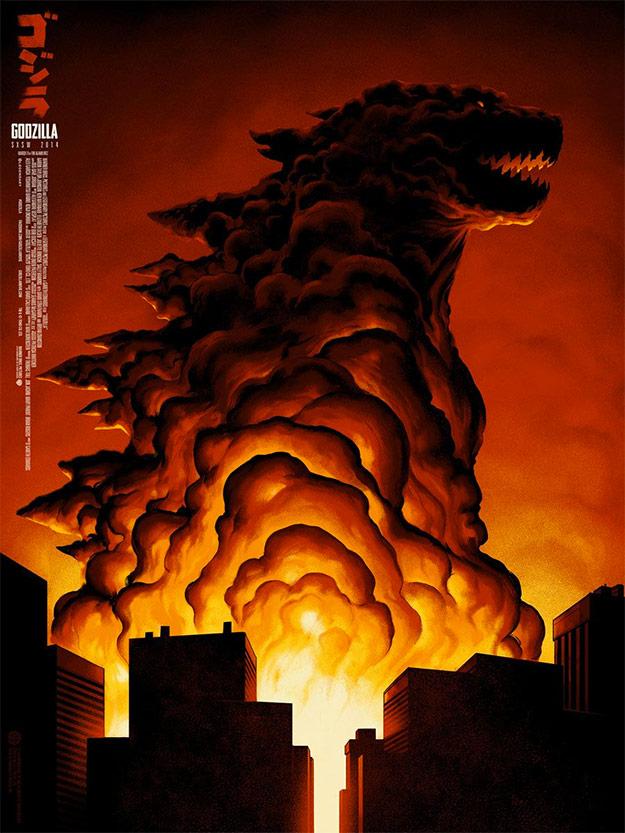 Un explosivo nuevo cartel de Godzilla presentado en el SXSW