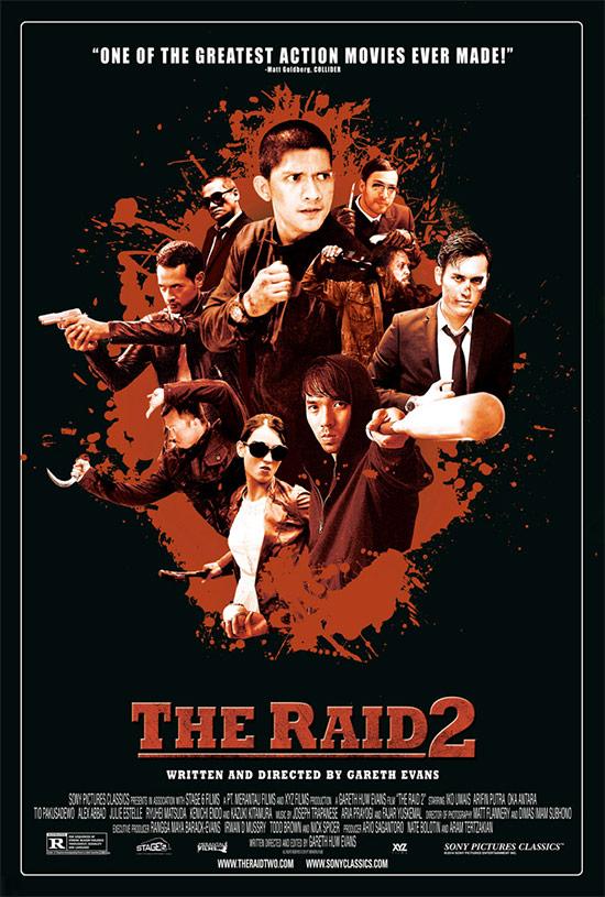 El nuevo cartel de The Raid 2: Berandal
