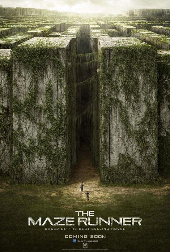 El primer cartel de The Maze Runner