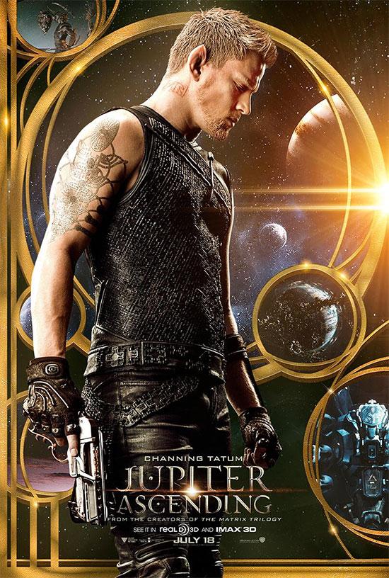 Uno de los nuevos carteles de Jupiter Ascending