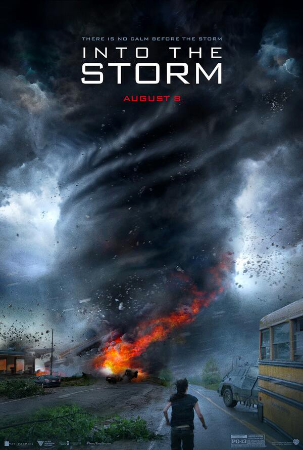 Me mola este cartel de Into the Storm