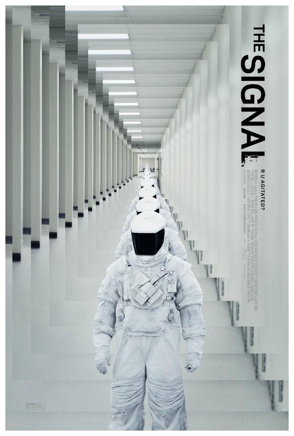 Mucho más interesante este nuevo cartel de The Signal