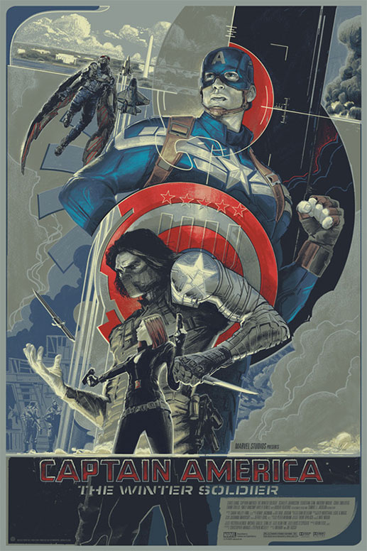 Cartel Mondo para Capitán América: el Soldado de Invierno