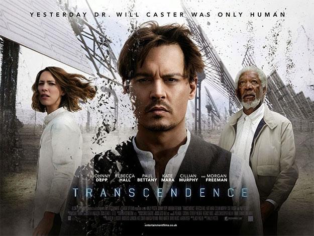 Un nuevo cartel de Transcendence... no sé que esperar de este film