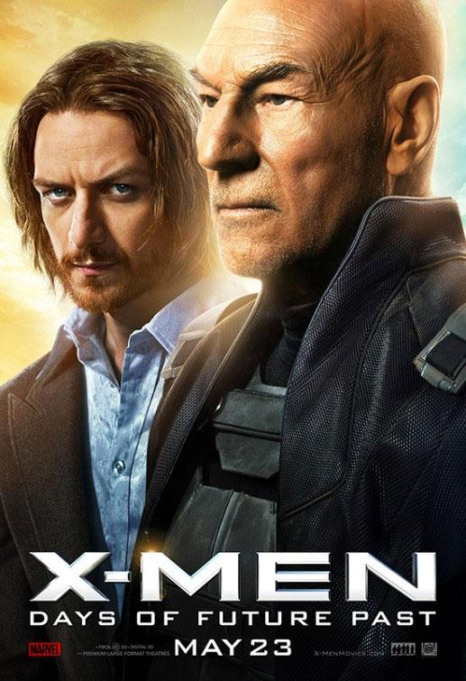 Y otro par de carteles más de X-Men: Días del Futuro Pasado