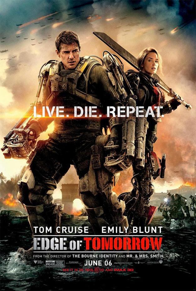 El póster USA del film