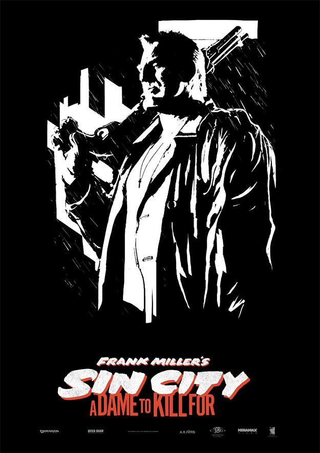 Un nuevo cartel molón de Sin City: A Dame to Kill For