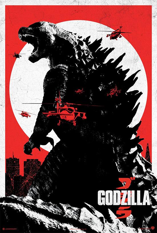 Y otro cartel de Godzilla... ya falta menos!