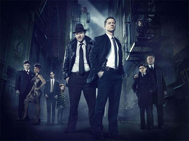 Saludad al reparto completo de la primera temporada de Gotham