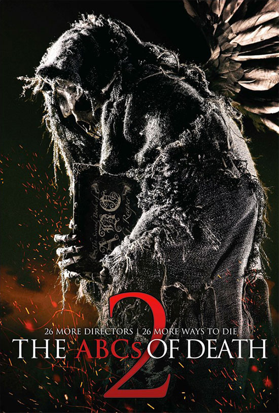 Primer cartel de The ABCs of Death 2