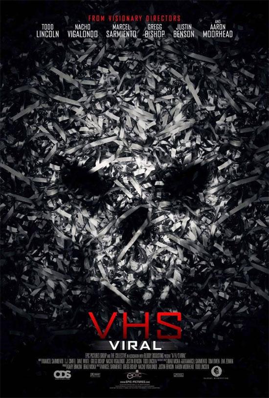El primer cartel de VHS Viral.. papelitos cadavéricos
