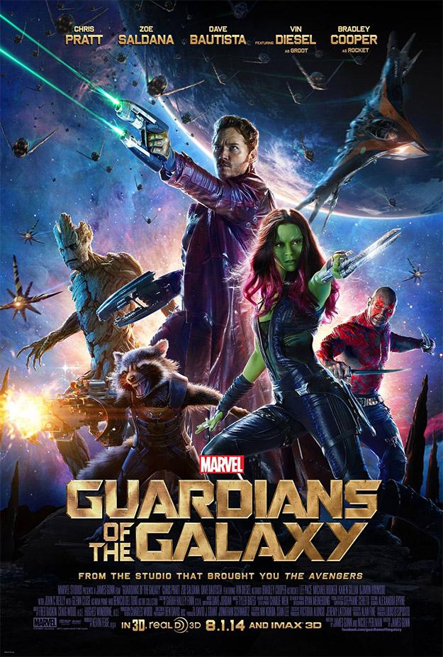 Guardianes de la Galaxia, amén