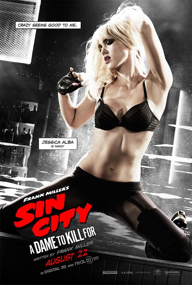 Nancy en un nuevo cartel de Sin City: A Dame to Kill For