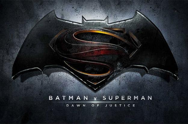 El logo oficial de Batman v Superman: Dawn of Justice