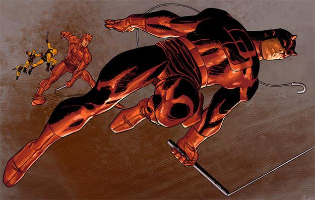 Daredevil por el gran John Romita Jr.