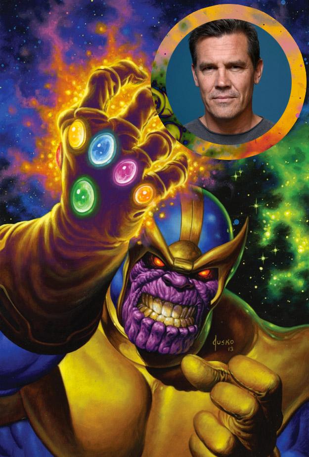 Josh Brolin de probar para ser Batman a transformarse en Thanos