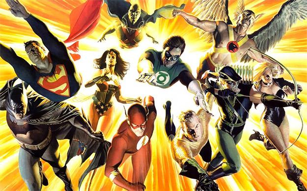 Ahí, apostando fuerte por toda la Justice League