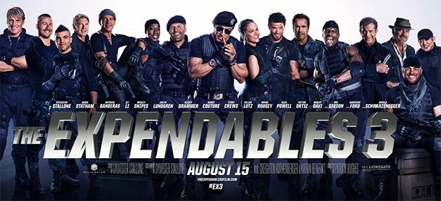 Un nuevo cartel de The Expendables 3... encuentro de amigos