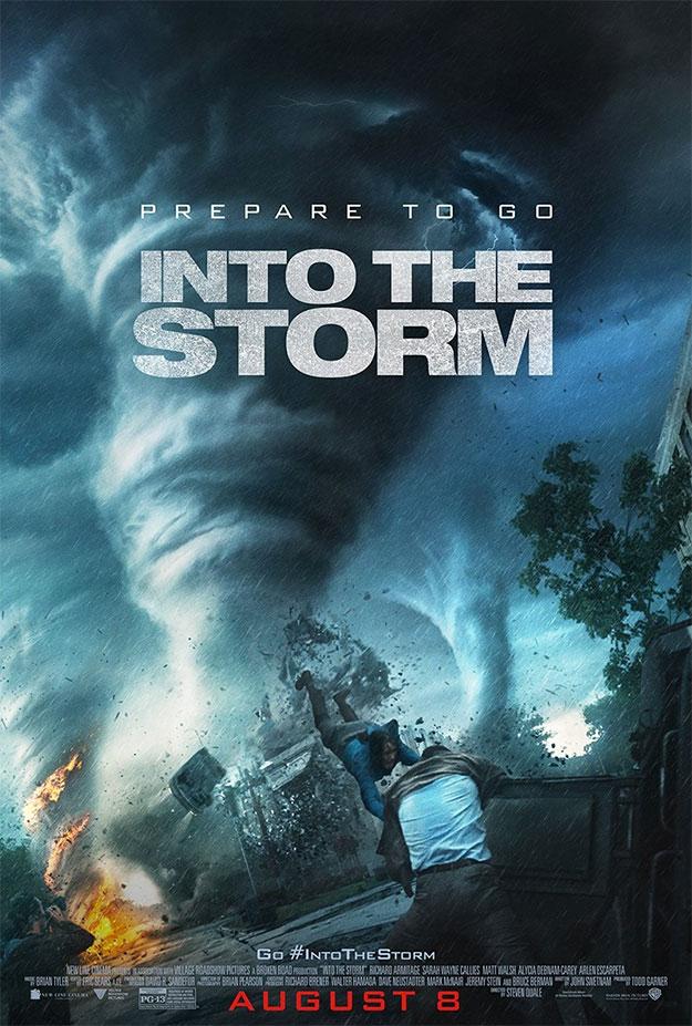 El nuevo cartel de En el ojo de la tormenta, destrucción masiva