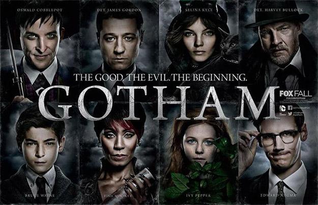 Cartel global de Gotham para su promoción en San Diego