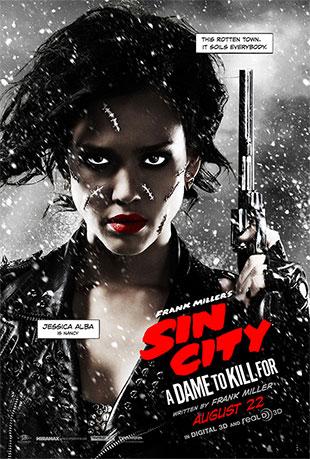 Dos nuevos carteles de Sin City: A Dame to Kill For, para ampliar pulsad