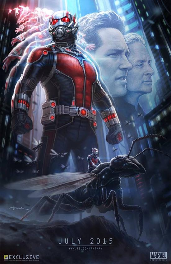 Primer póster de Ant-Man especial para la Comic-Con