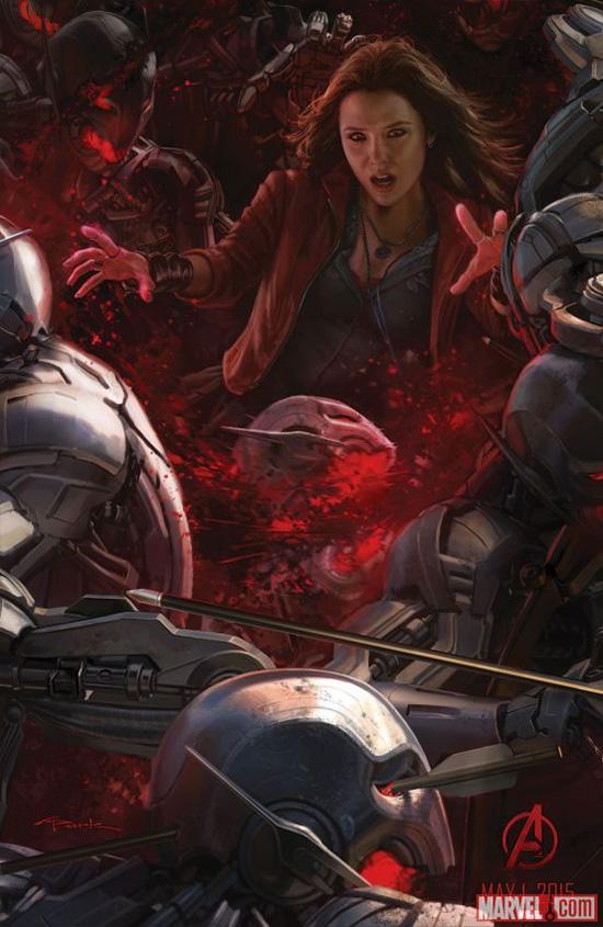 Concept art de Avengers: Age of Ultron