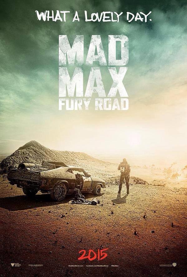 Al fin el primer cartel de Mad Max: Fury Road