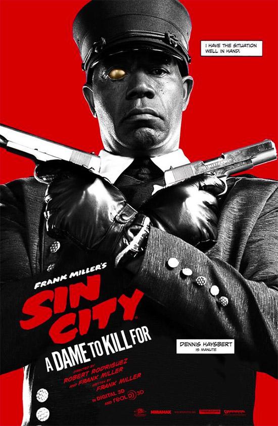 El tercero de la colección de Sin City: A Dame to Kill For
