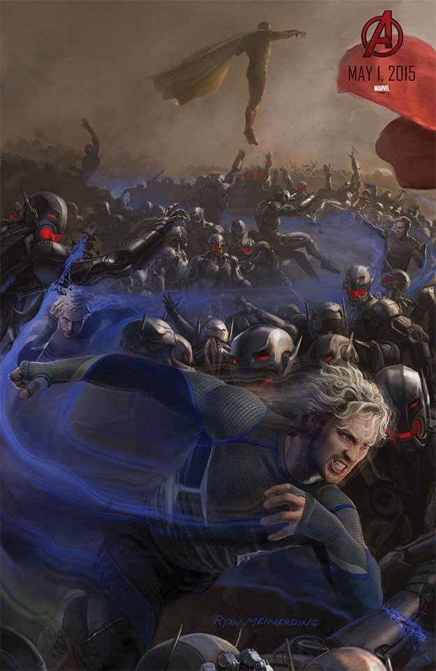 Saludad a Pietro Maximoff AKA Quicksilver en Avengers: Age of Ultron