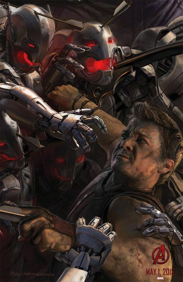 Saludad a Clint Barton AKA Ojo de Halcón en Avengers: Age of Ultron