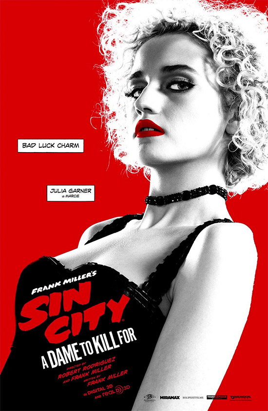 Cartel de Sin City: A Dame to Kill For