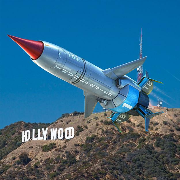 La Thunderbird 1 que veremos en Thunderbirds!