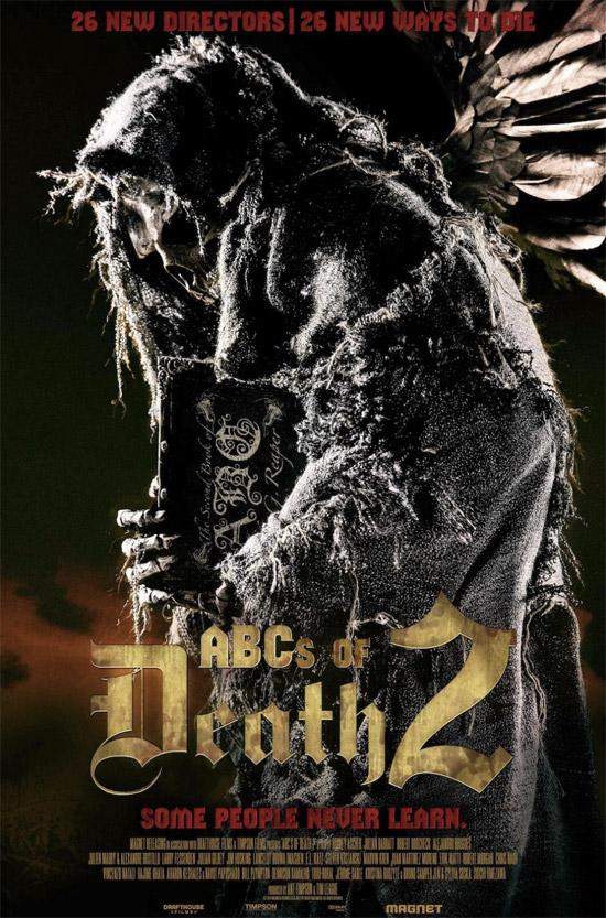 Nuevo cartel de ABCs of Death 2