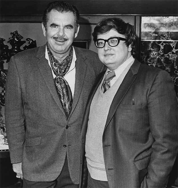 Russ Meyer y Rogert Ebert