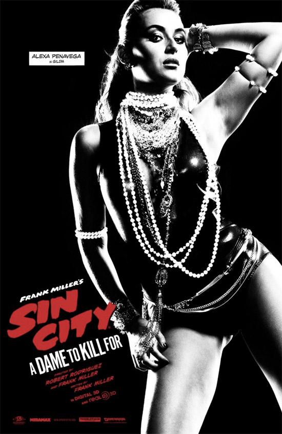 Un nuevo cartel de Sin City: A Dame to Kill For